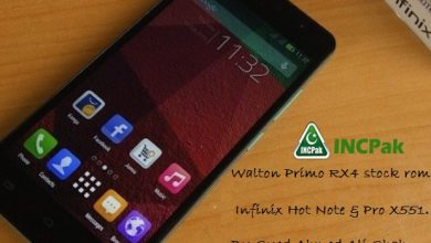 Photo of Walton Prime RX4 Stock ROM for Infinix HOT Note & Pro
