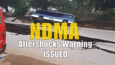 Photo of NDMA issues aftershocks warning