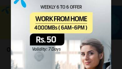 Photo of Telenor Introduces Work from Home offer in Just Rs 50