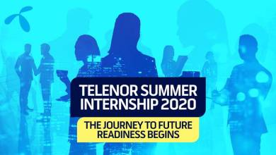 Photo of Telenor Pakistan launches Virtual Summer Internship Program 2020