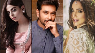 Photo of Yashma Gill, Faysal Qureshi team up for upcoming project Gustakh