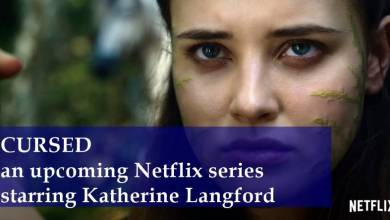Photo of CURSED, an upcoming Netflix series starring Katherine Langford