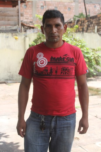 Valter Macêdo, liderança da comunidade Alto Mentai
