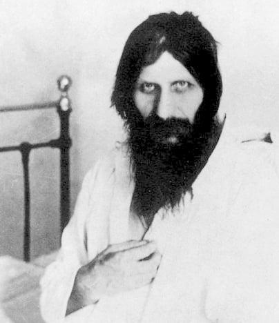 Rasputin în spital (cca. 1914). Foto: wikimedia.org