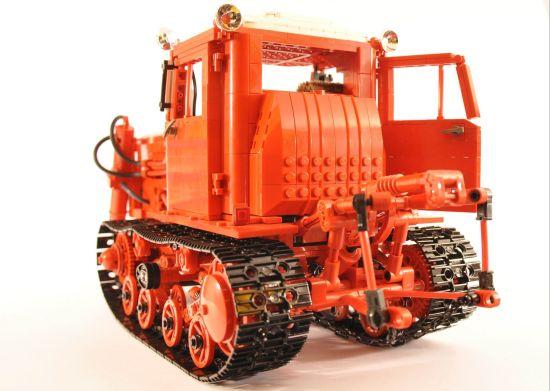 lego belarus dt 75 crawler tractor 4