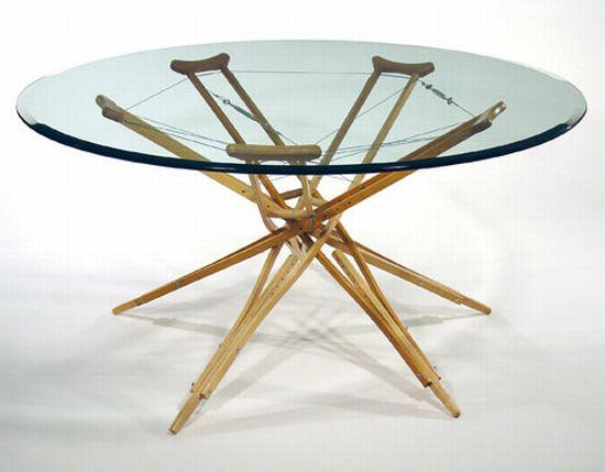 the crutch table