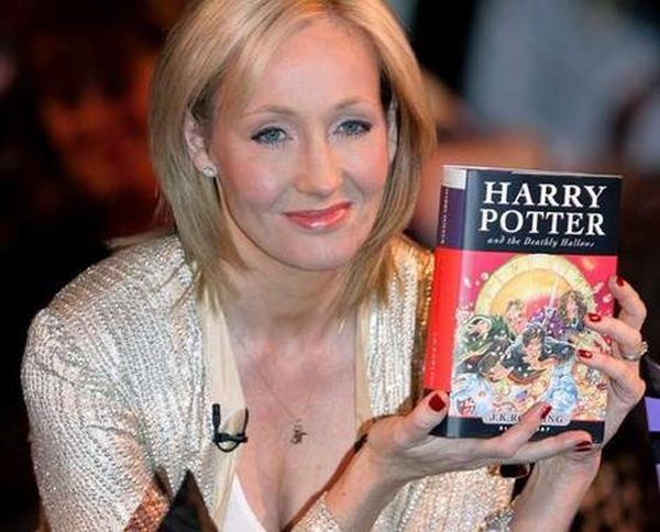 J.K. Rowling, the writer of Harry Potter