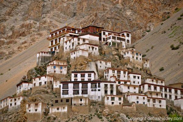 Buddhist Monastery of Ki, India