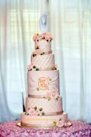 #324-Couture Wedding Cake