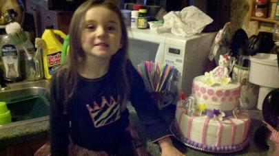#62- Katie and her Hello Kitty Cake