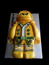 Golden Lego Ninja