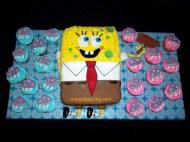 Sponge Bob and Jellyfish