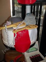 #122- Roaring 20's Ladies Cake
