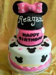 Minnie Inspired Cake