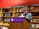 """Paul Muldoon read another sestina of his, not in the book, called """"The Turn."""" It's pretty incredible."""