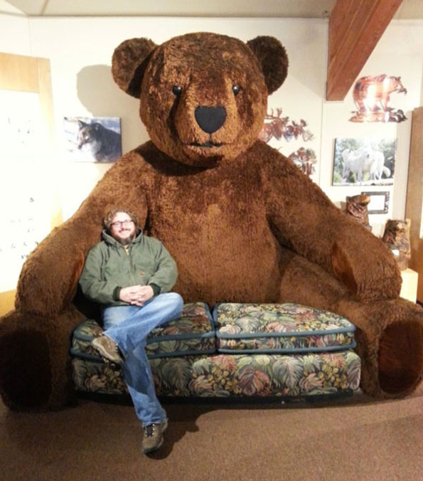 Giant Teddy Bear Sofa Incredible Things