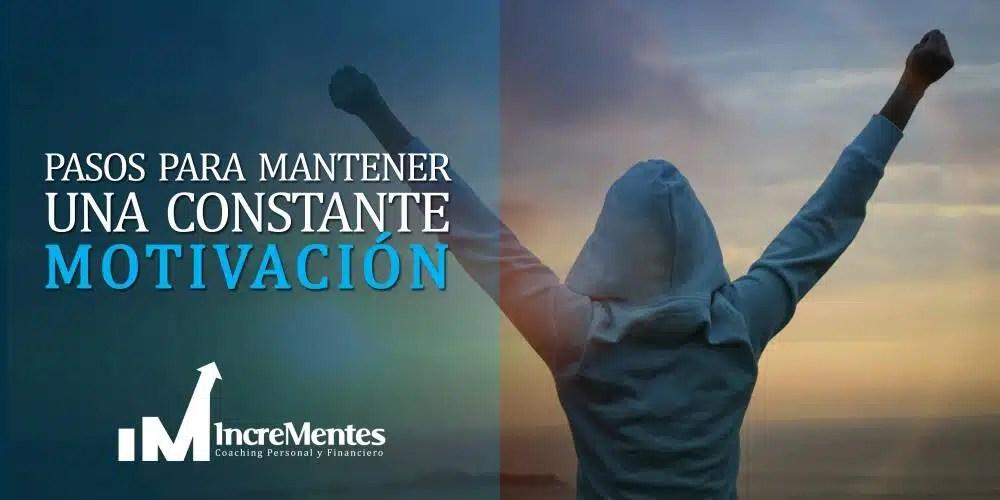 Pasos para mantener una constante motivación