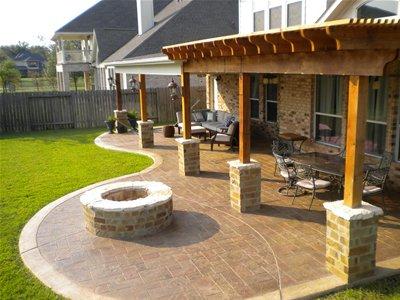 outdoor fire pit design ideas increte