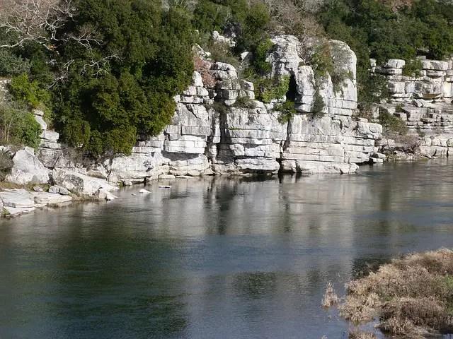 Labeaume en Ardèche