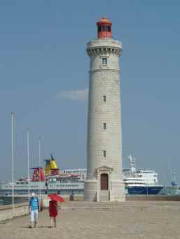 Le phare de Saint-Louis à Sète