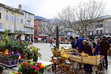 marchés de la Drôme
