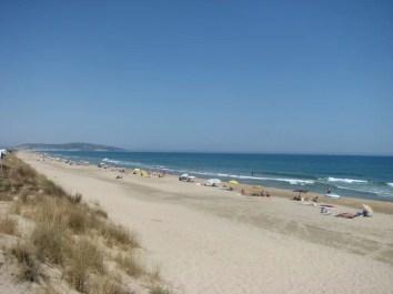 Les plages à Sète