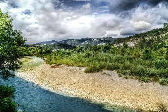 rivière Drome