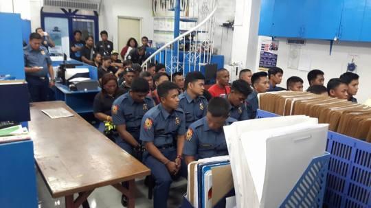 Police in INC-22