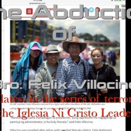 IGLESIA NI CRISTO LEADERS LINKED TO TWO MORE KIDNAPPING CASES
