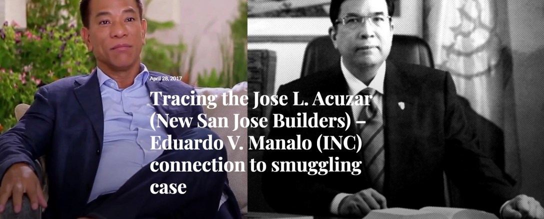 INC Connection to Smuggling