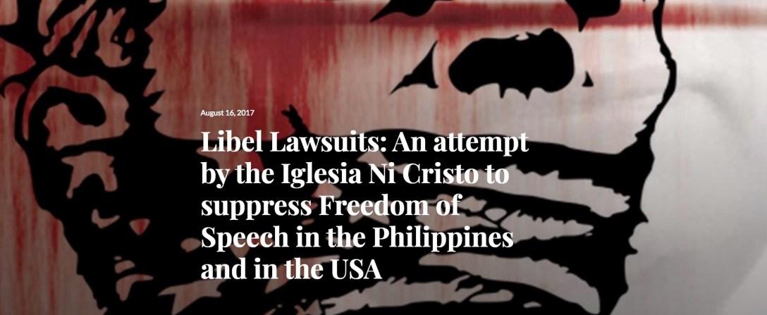 Suppression of Free Speech