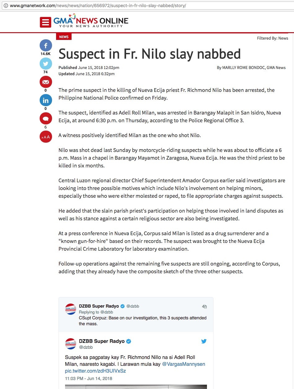 [2018.06.15] Suspect Nabbed - http-::www.gmanetwork.com:news:news:nation:656972:suspect-in-fr-nilo-slay-nabbed:story: