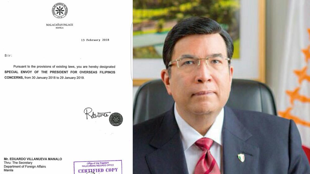 Eduardo V. Manalo SPecial Envoy.png