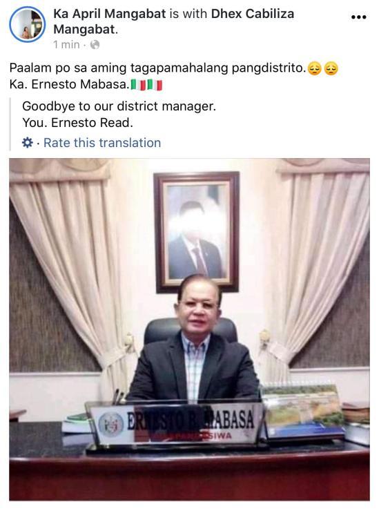 Ernesto Mabasa