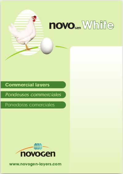 datos produccion novogen white