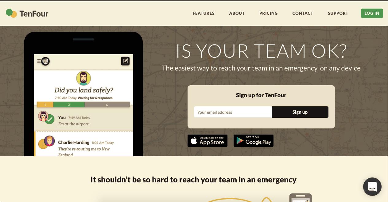 Ushahidi launches TenFour for Public Beta Testing