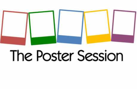 ThePosterSession logo scientists posters
