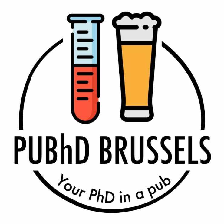 puhd brussels logo science in the pub