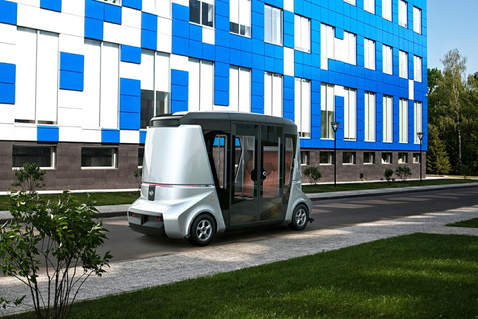 Self-driving bus comes true earlier than cars!? -3-