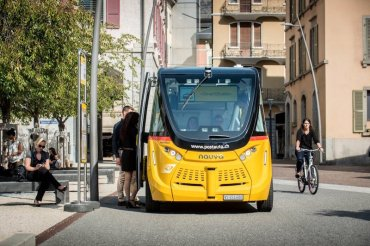Self-driving bus comes true earlier than cars!? – 1 –