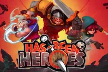 Has-Been Heroes Key Art