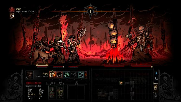 Darkest Dungeon The Crimson Court screenshot