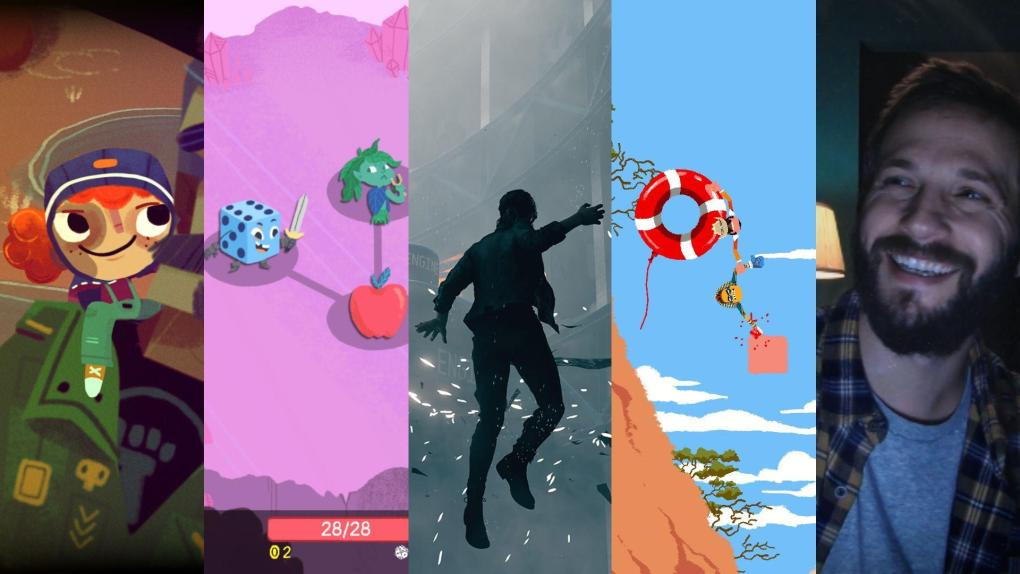 Indie games August 2019 collage