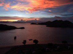 Sunset in Sebayur Island