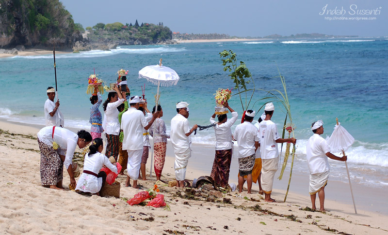 The Balinese and the Sea
