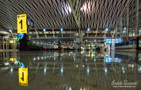 Makassar Airport, Empty at Early Morning