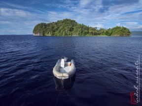 Sailing in Raja Ampat