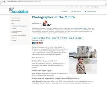 Photographer of the Month - Indah Susanti