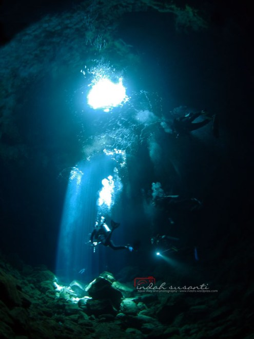 Cave Diving (Sal Island - Cabo Verde)