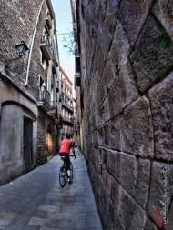 Gothic Quarter's narrow alley